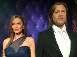 7. Brad Pitt and Angelina Jolie
