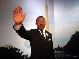 25. Martin Luther King, Jr. -Leader in the African-American Civil Rights Movement