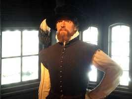 32. Ponce de Leon -Spanish explorer, discovered and named Florida