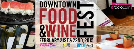 2. Downtown Food & Wine Festival When: Saturday & SundayWhere: Lake Eola Cost: One day admission - $15, two day admission - $25, get tickets here.