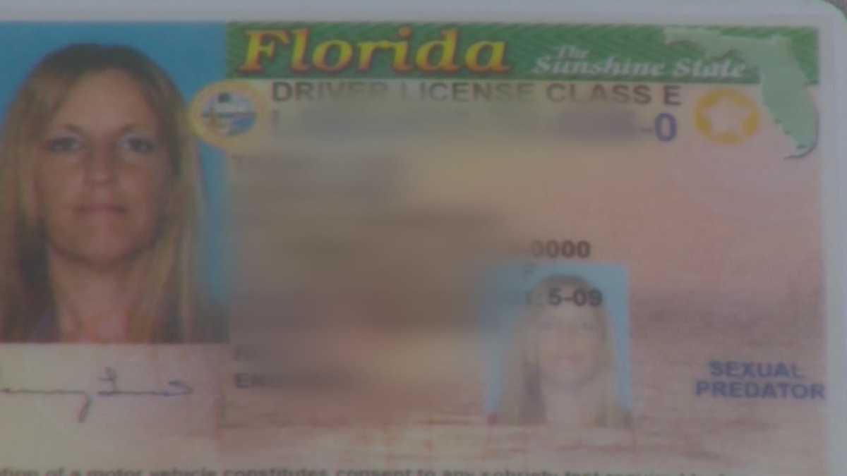 florida sex offender driver license in Cincinnati