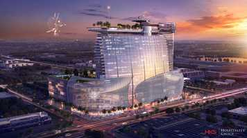 iSquare Mall and Hotel is slated to open in the fall of 2017.