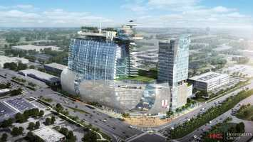 The $400 million development will be built on the corner of International Drive and Kirkman Road.
