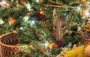 Christmas Tree at Disney's Animal Kingdom Lodge