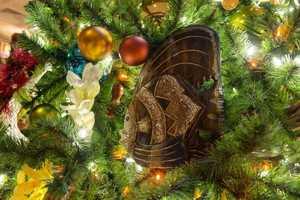 Christmas Tree at Disney's Polynesian Village Resort
