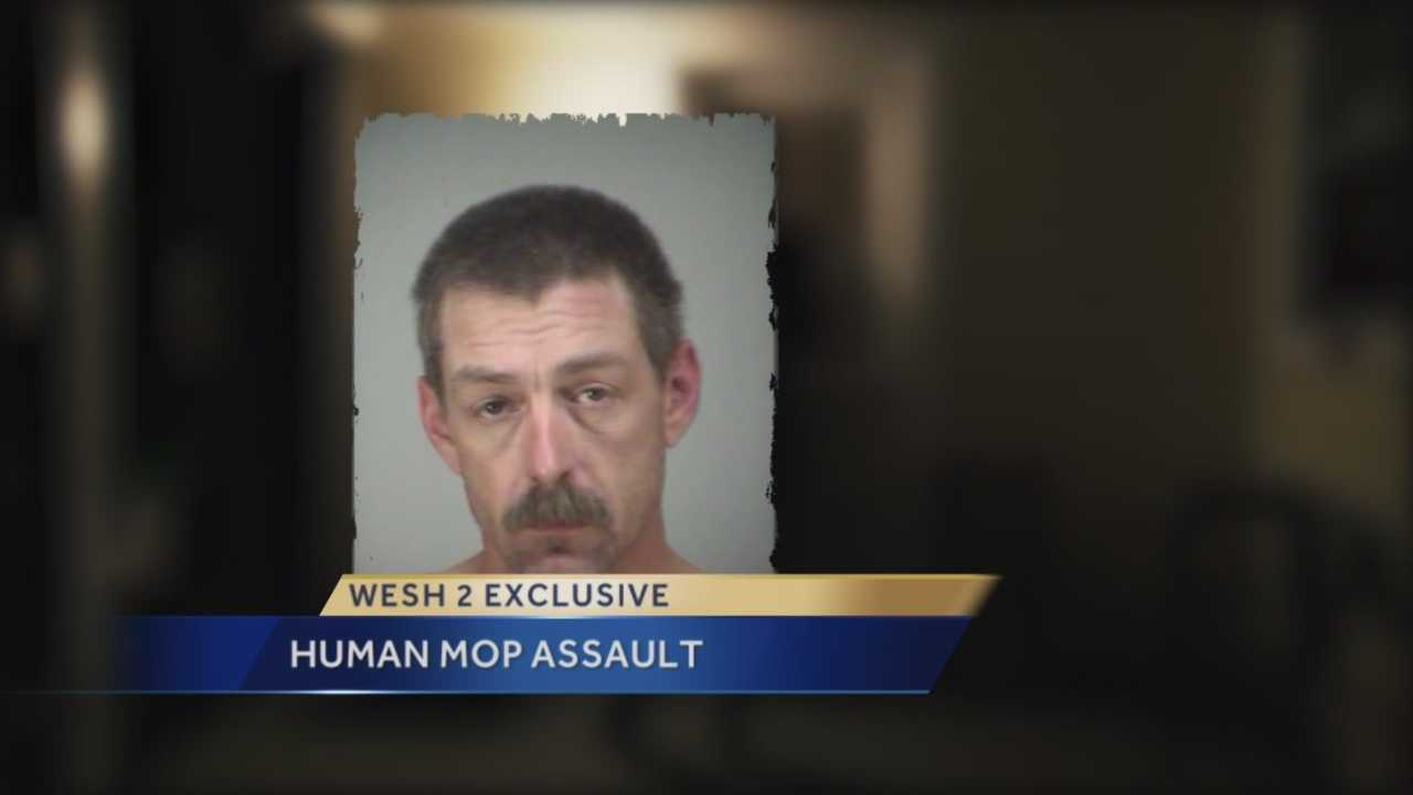 An argument over a sandwich led to a violent situation. Police said a man in Fruitland Park used his wife as a human mop to clean up the mess they made. Chris Hush (@ChrisHushWESH) has the story.