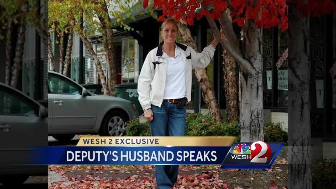 Husband of deputy injured in hit-and-run talks exclusively to WESH 2 News