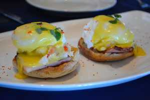 Lobster Eggs Benedict at Narcoossee's