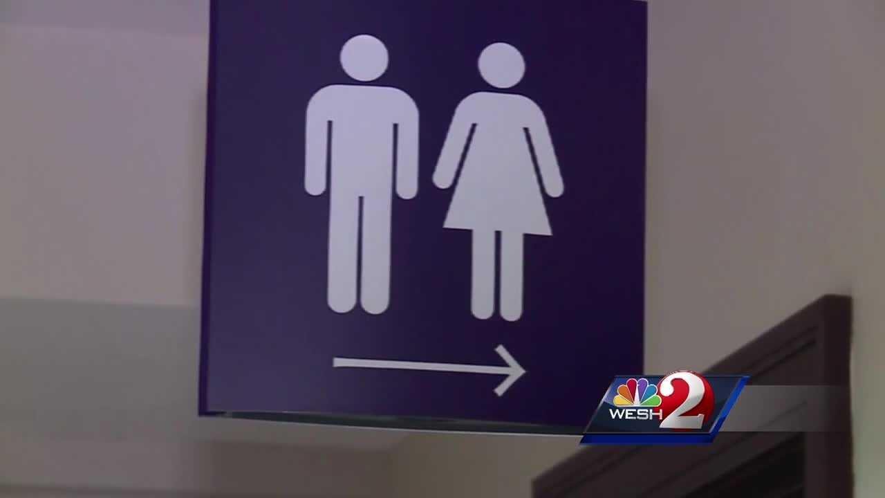 Gov. Scott addresses transgender bathroom debate