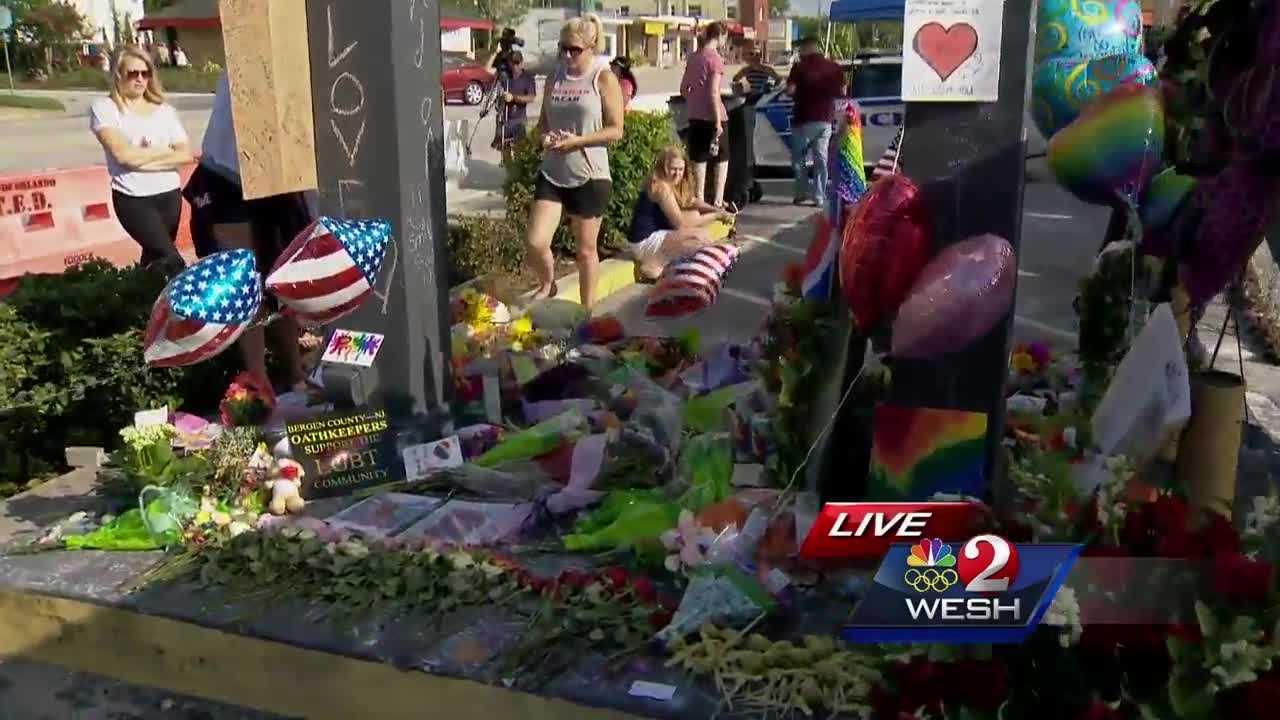 Memorial begins to take shape outside Pulse