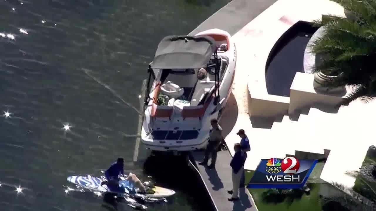 Drunk Boating Crash
