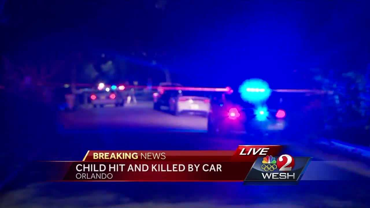 Child hit, killed by vehicle in Orlando, police say