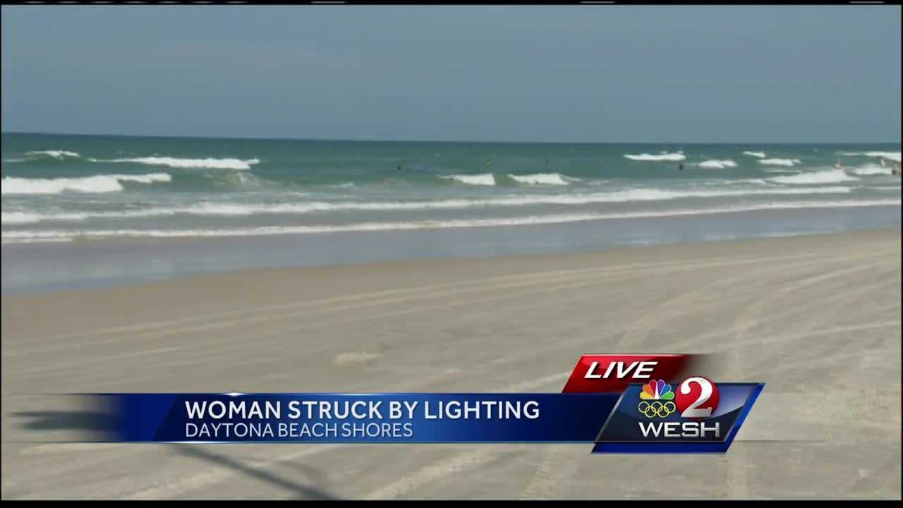 Woman killed by lightning strike in Daytona Beach Shores