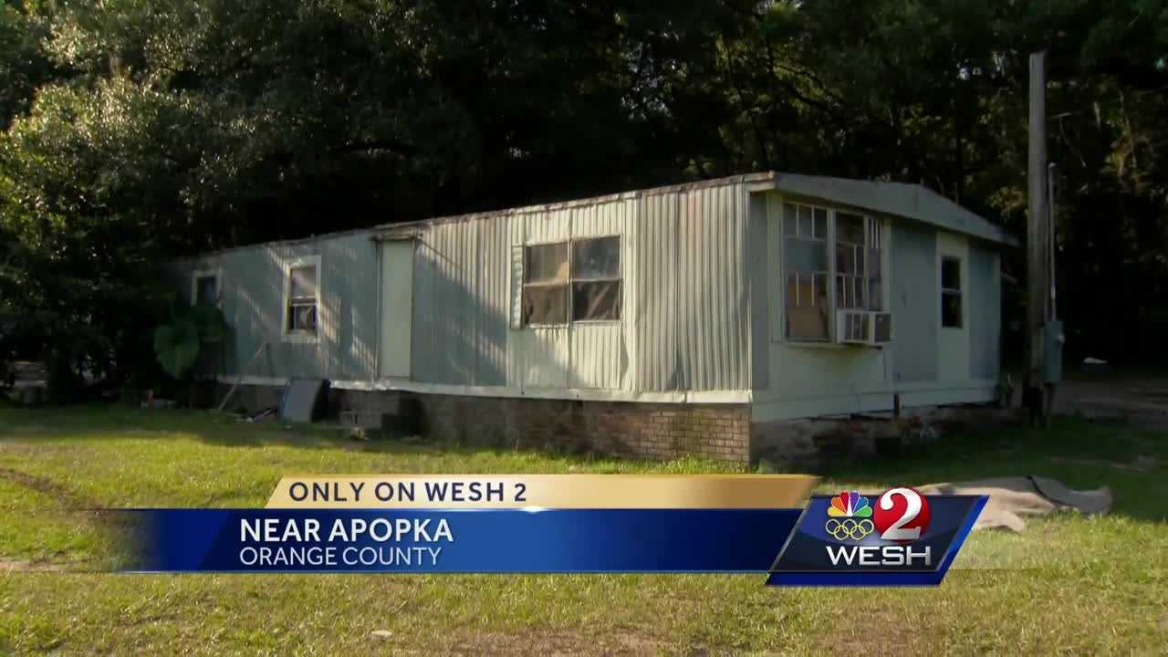 Shots fired into Apopka mobile home