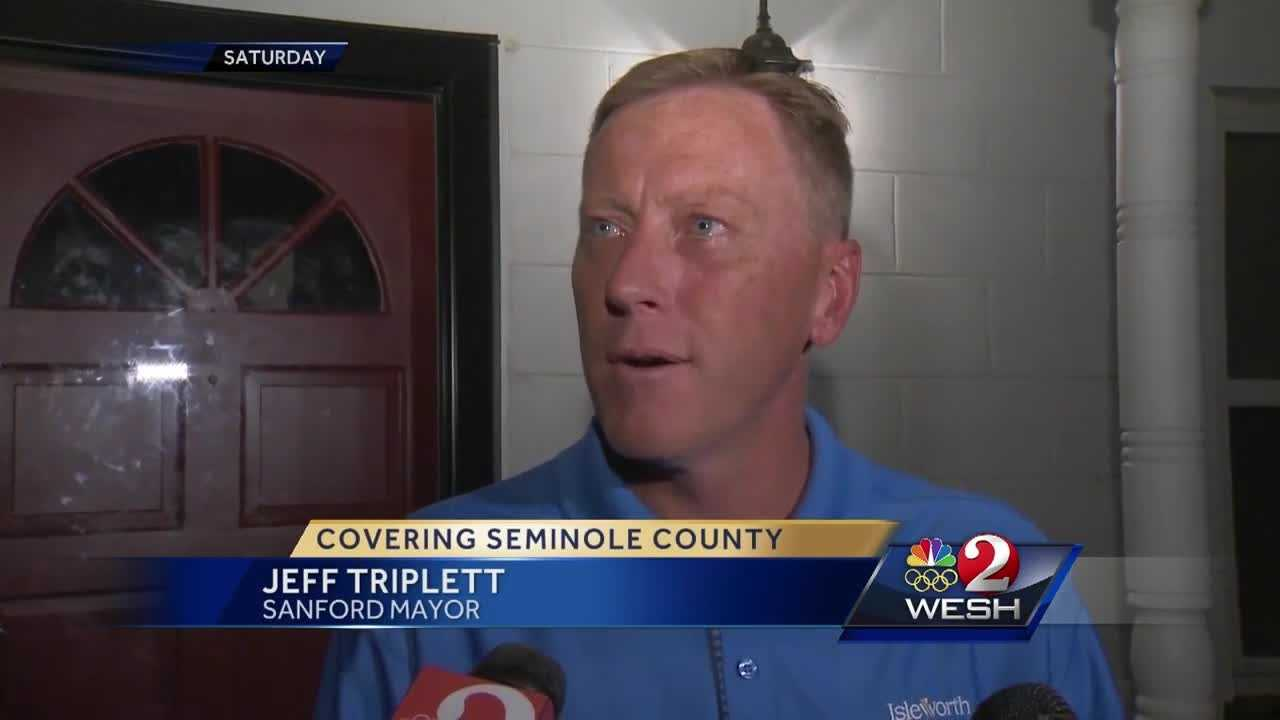 Search continues for suspect in Sanford mayor carjacking