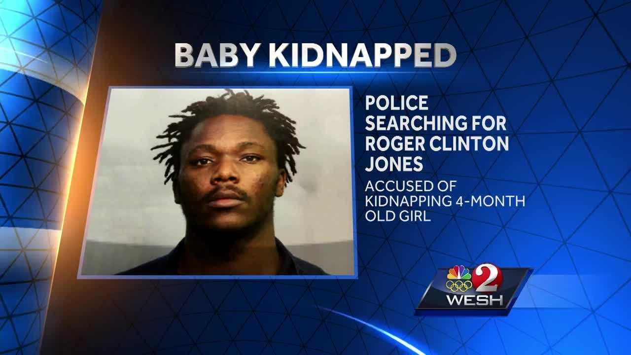 Lake Mary police search for man accused of kidnapping baby