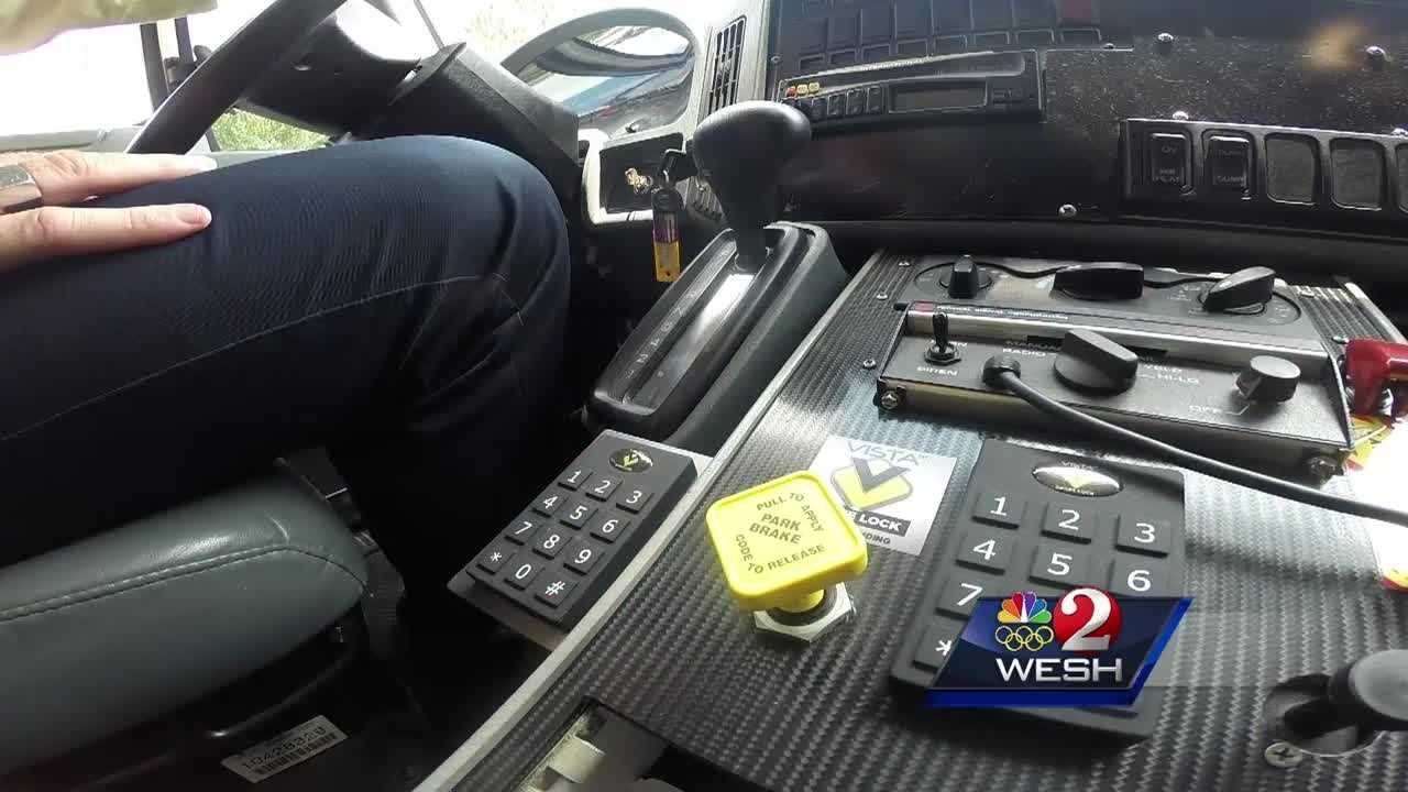 Former firefighter creates device to curb thefts of emergency vehicles