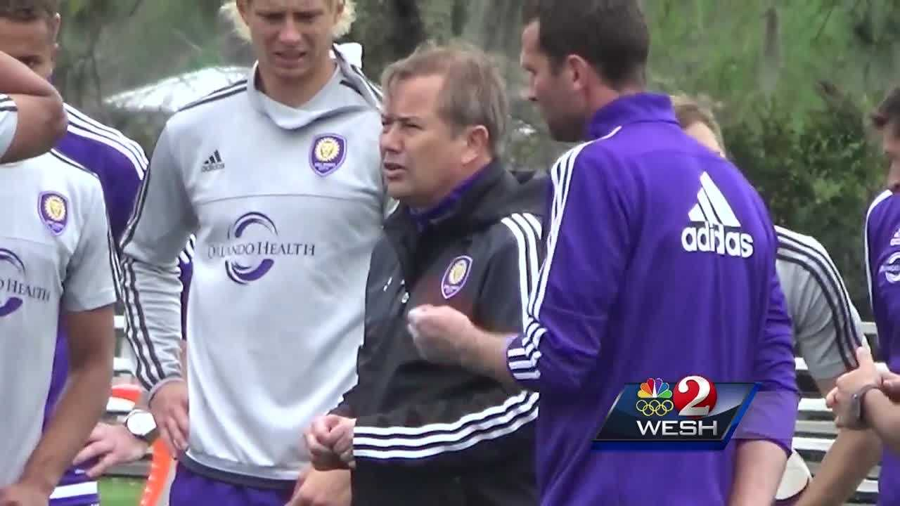 Orlando City fires head coach Adrian Heath