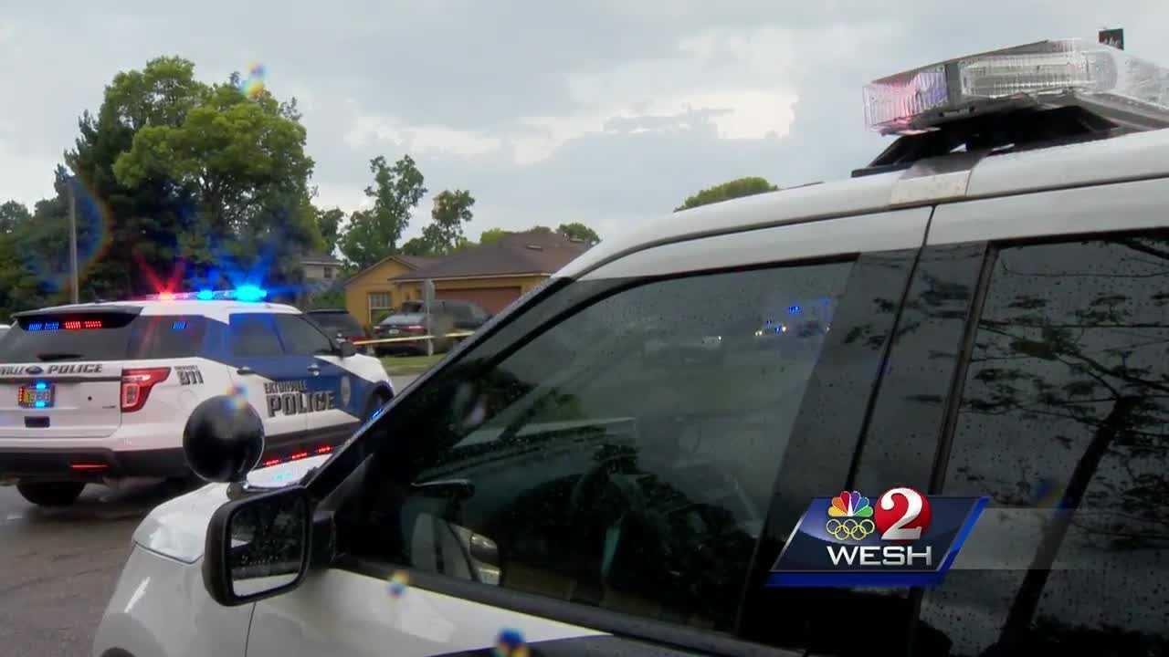 Gunshots, crash in Eatonville neighborhood