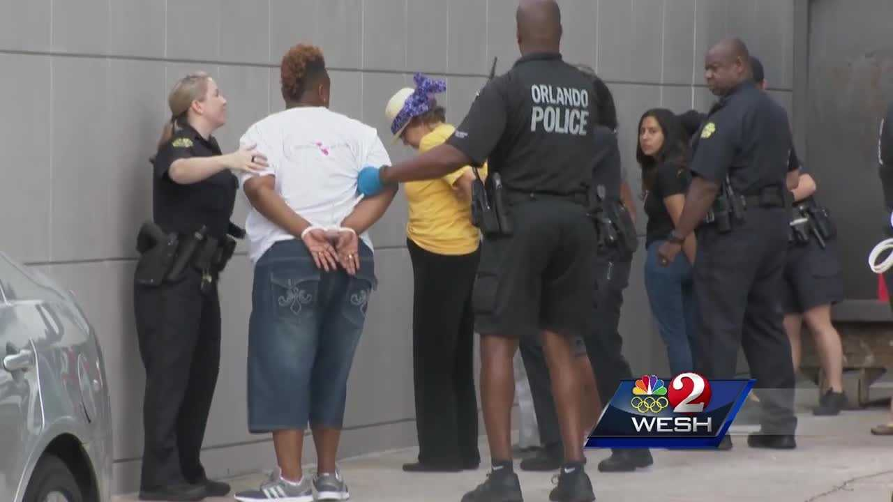 'Sit-in for the 49' ends with arrests in Sen. Rubio's office