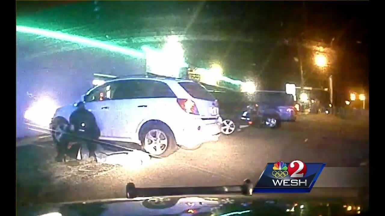 Cape Canaveral hit and run caught on camera