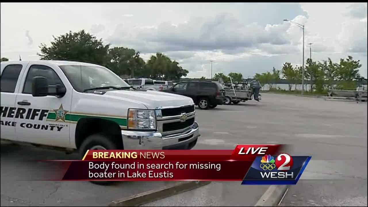 Body found in search for missing boater in Lake Eustis