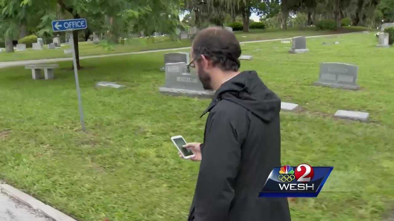 'Pokemon Go' leading players into cemetery