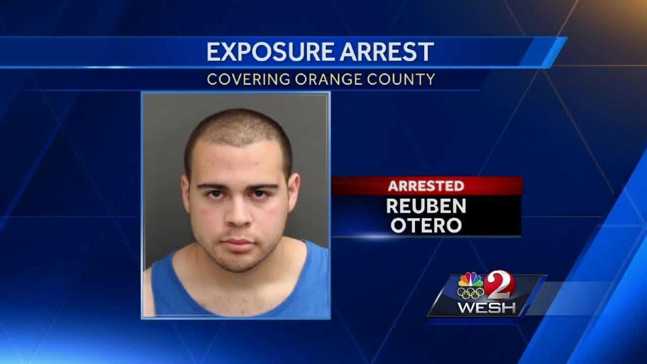 Orange County man arrested after exposing himself twice to a woman