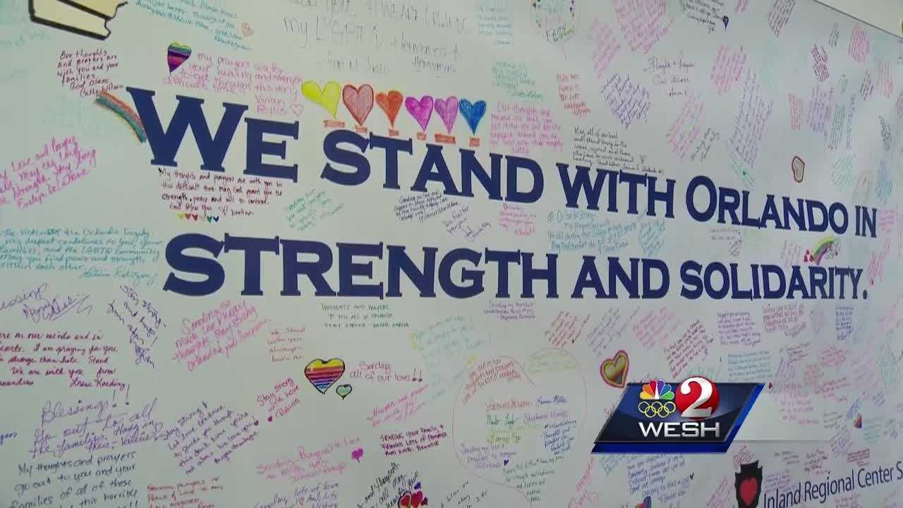 Survivors of California terror attack offer 'strength and solidarity' with Orlando