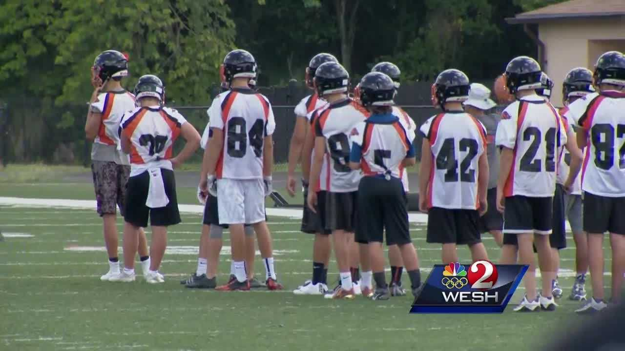 High school athletes encouraged to stay hydrated at all times during practice