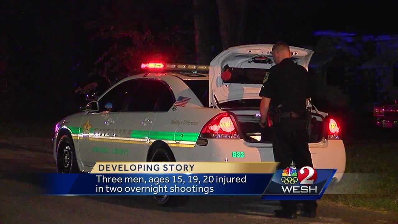 Two overnight shootings in Pine Hills, three injured