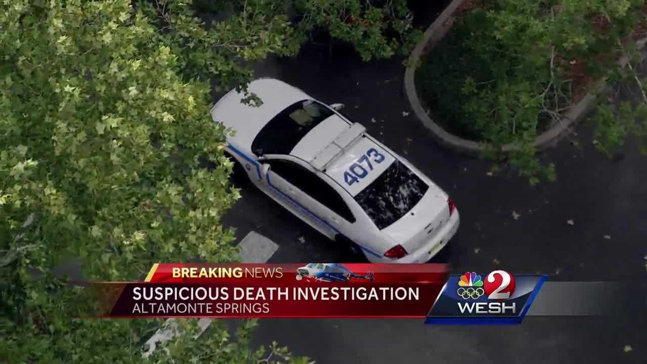 Suspicious death investigation underway in Altamonte Springs
