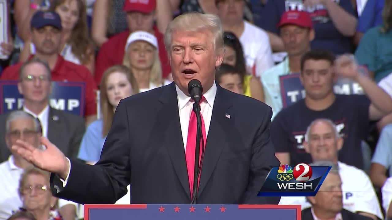 Peaceful Trump rally held in Daytona Beach