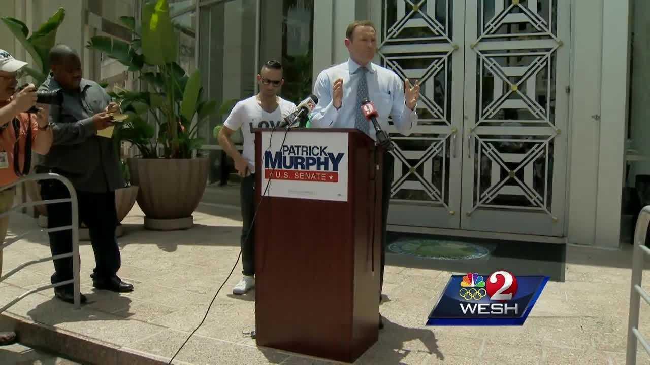 Murphy, Grayson spar over debates