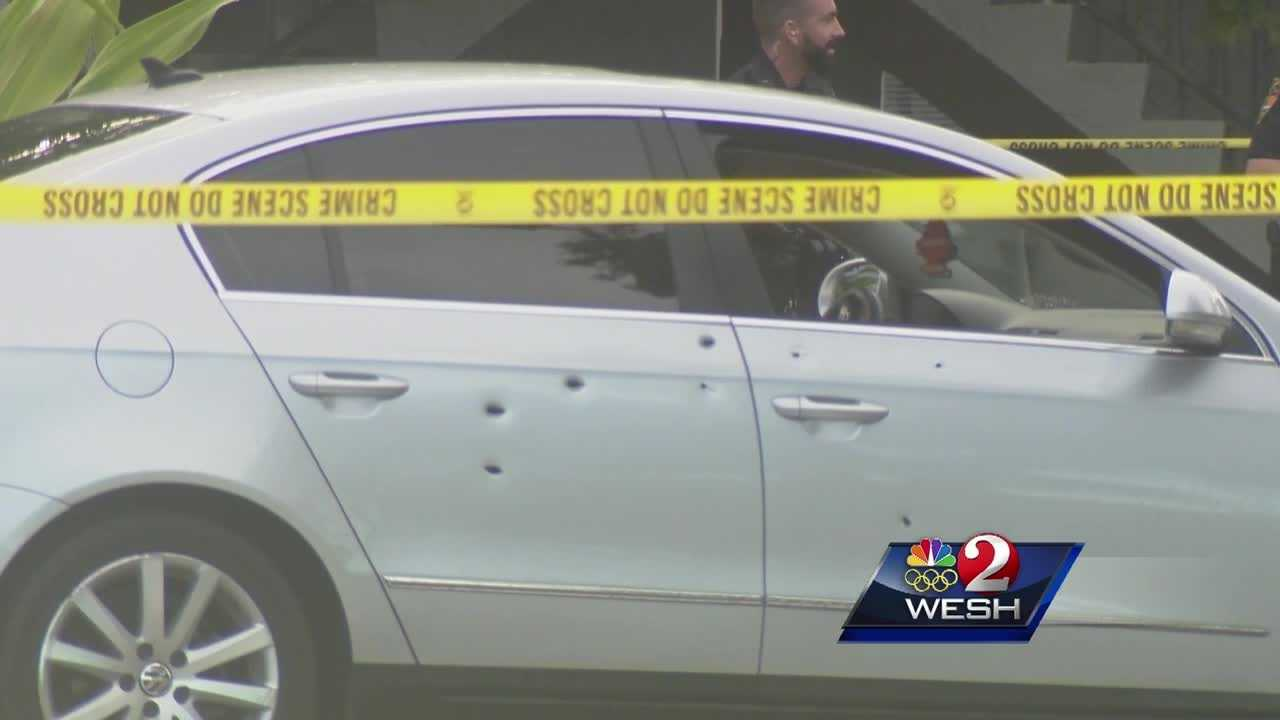 Titusville police fire shots at driver