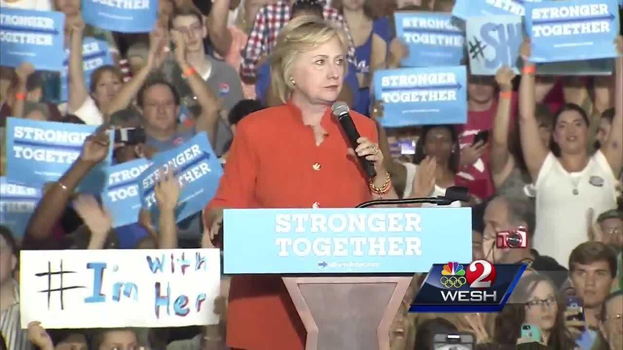 Clinton, Trump focus on American economy