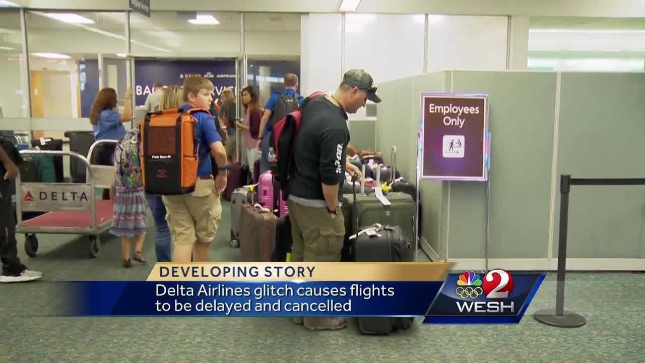 Delta technical problem impacts thousands at OIA