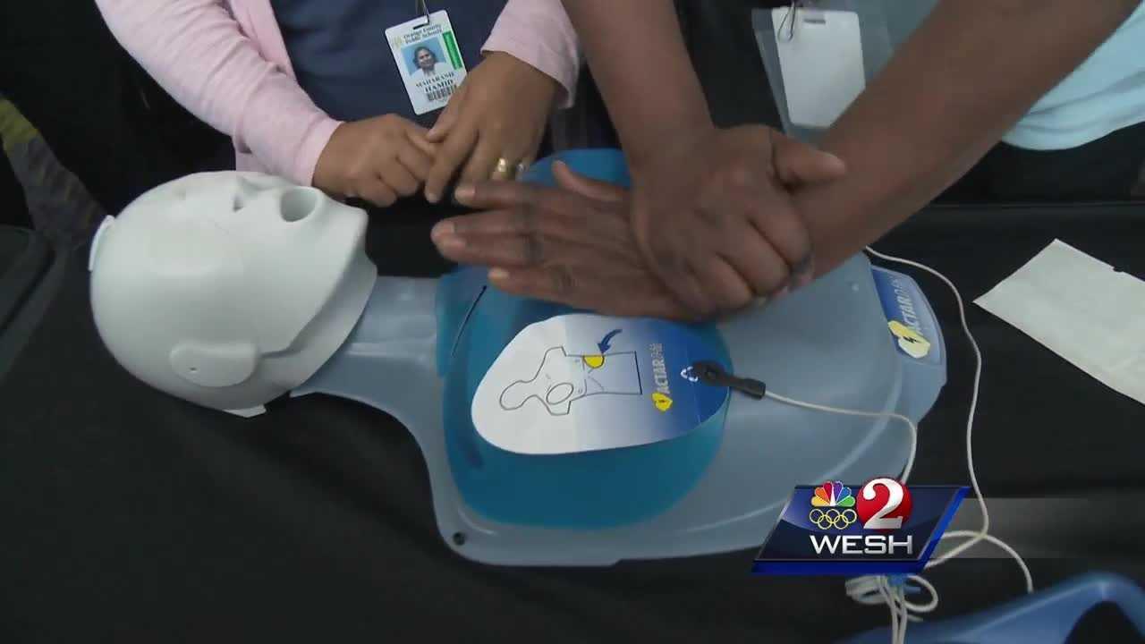 Orange County bus drivers taught lifesaving skills