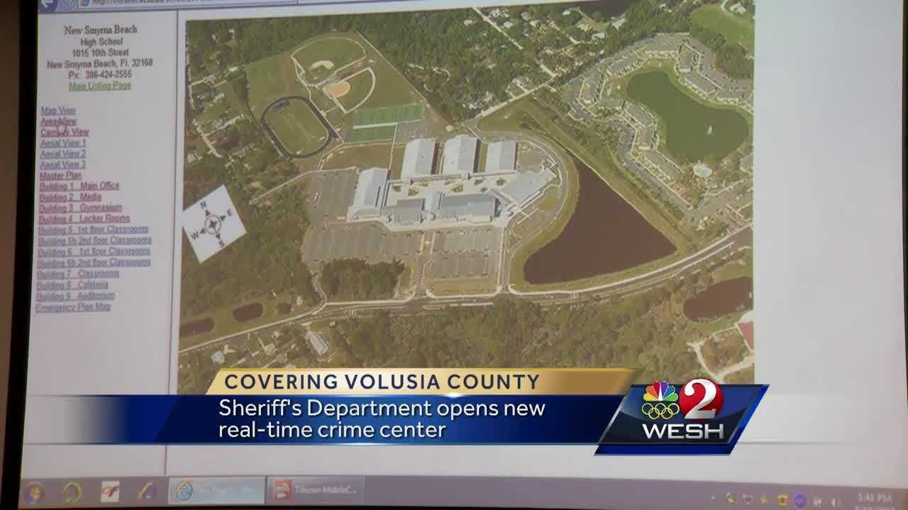 Volusia County Sheriff's Department opens new crime center