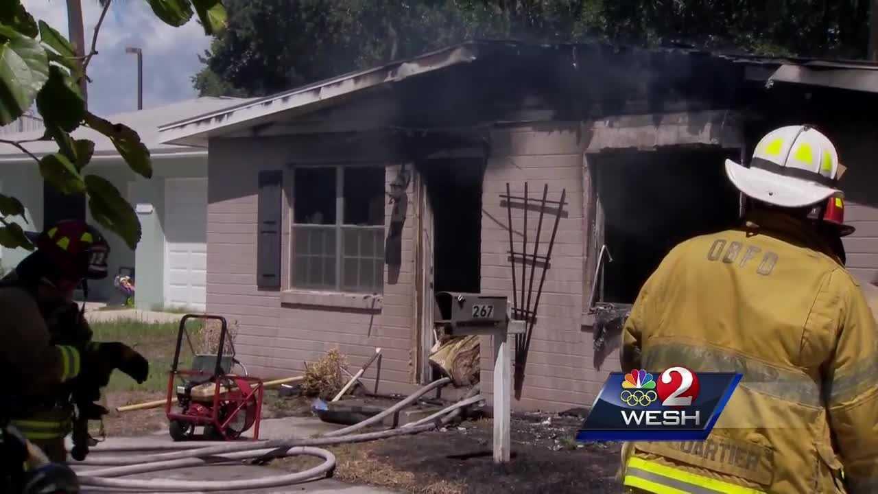 Family escapes Ormond Beach housefire