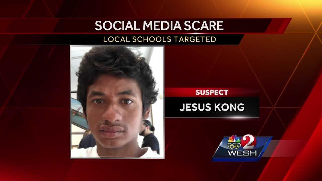 Social media threat suspect identified