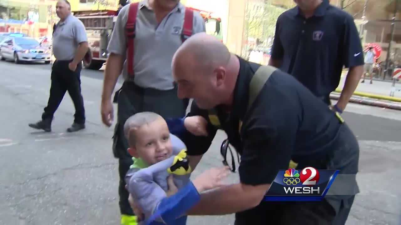 Boston hotel throws birthday party for cancer patient from Orlando