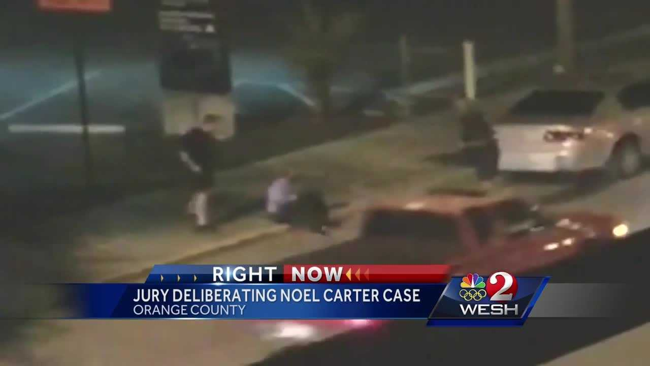 Jury deliberating case of man accused of attacking police