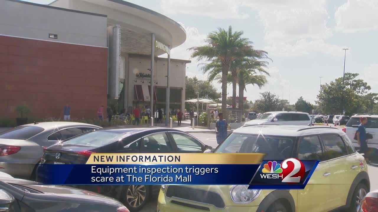 Equipment inspection triggers scare at Florida Mall