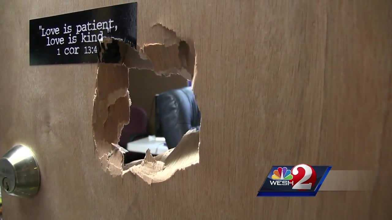 Rockledge church vandalized
