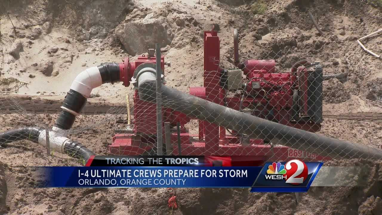 I-4 Ultimate crews prepare for storm