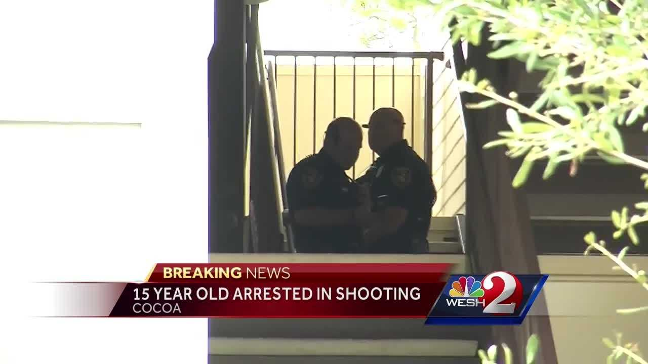 Teen arrested in Cocoa shooting