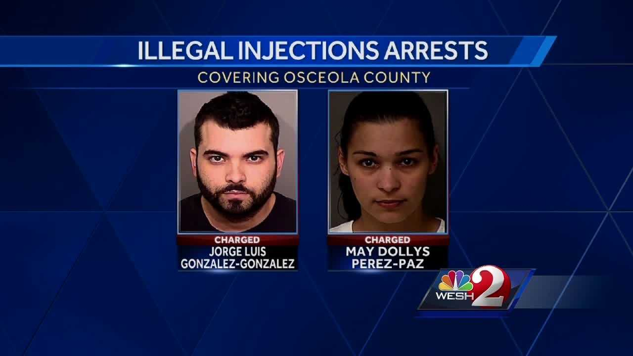 Couple accused of giving fake injections, sickening 72-year-old man