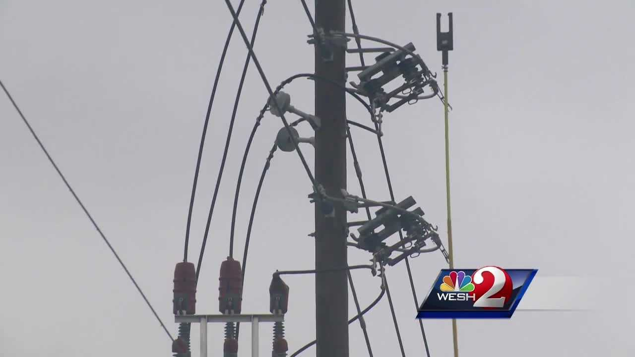 Crews still working to restore power in Lake County