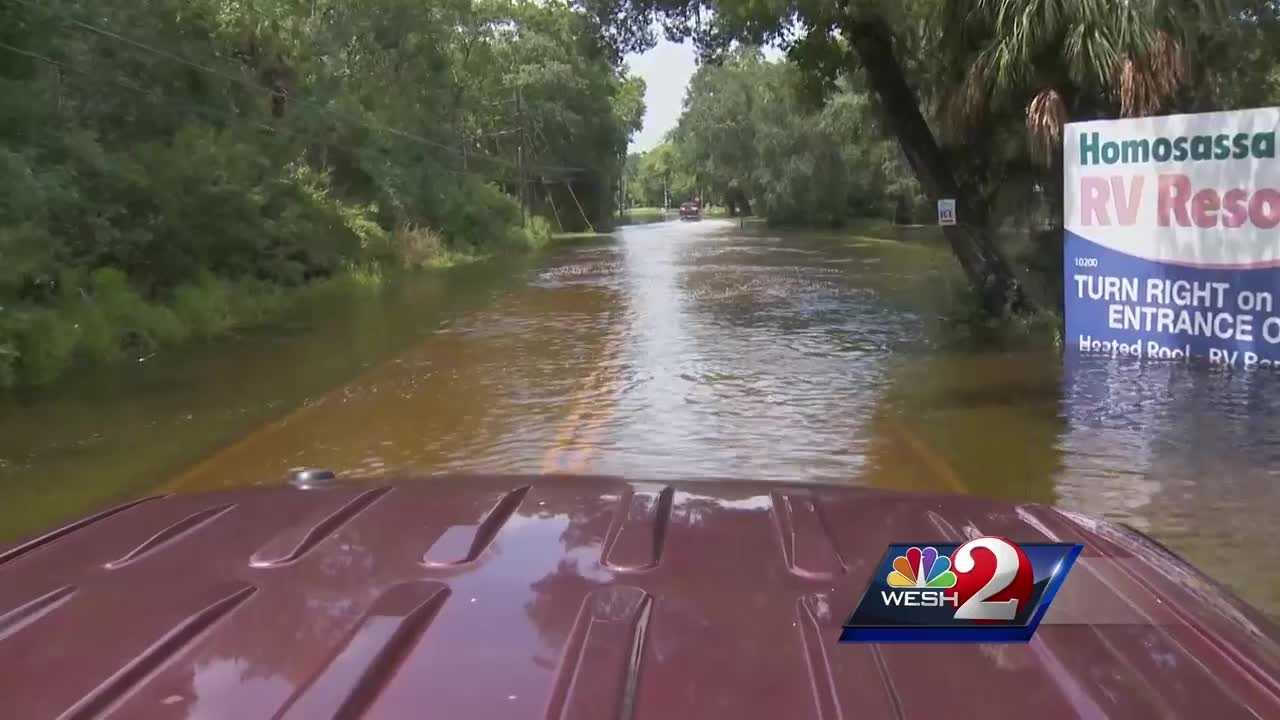 Widespread flooding impacts Citrus County residents